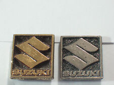 Vintage Suzuki Logo Motorcycle Pin (Choice of 1-Gold or Silver tone) ***
