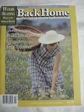 BACK HOME MAGAZINE #60, SEPT/OCT 2002
