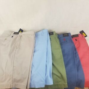 Polo Ralph Lauren Shorts Relaxed Fit Blue Red Green Grey 32 - 42 X 10""