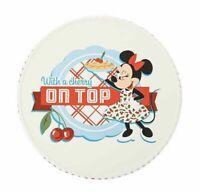 2020 Disney Parks Mickey & Minnie Mouse Retro Kitchen Cake Stand