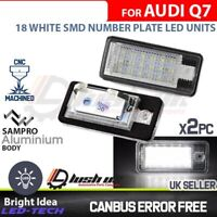 AUDI 18 LED License Number Plate Lamps Bulbs 7000k Xenon White OEM Replacement