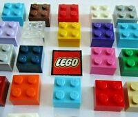 LEGO 2x2 BRICKS (Packs of 8) - Choose Colour - Design 3003 / 6223 / 35275