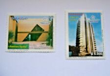 PARAGUAY 2007 National  Architecture Urban planning MNH Set Unused stamps.