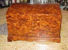Burl wood box - Burl wood jewelry box - Jewelry box - Burl wood jewelry chest