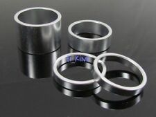 "1"" or 1 1/8"" Alloy Bike Headset Spacer Kit,Headset Spacers 4PCS- 20mm-10mm-5mmx2"