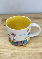 Starbucks Florida You Are Here Mug 2013 Shuttle Palm Tree Tumbler Coffee Cup