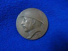 Medaille medal Belgium War Medal.By E. De Bremaecker CORDIAL SOUVENIR DELAUTEUR