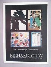 Richard Gray Art Gallery Exhibit PRINT AD - 1975