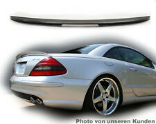 Mercedes Sl R230 Spoiler Roadster Rear Wing Tuning AMG Type a Lip Silver 744