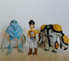 Ben 10 figurines amphibian boulet de canon lot de 3