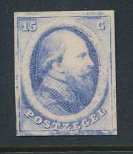 PROEF 15 CT. 1864 BLAUW KARTONPAPIER, Pc.23 b MET PLAKKER   Zj513