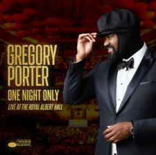 Gregory Porter One Night Only LIve At Royal Albert Hall  (CD +DVD) NEW & SEALED