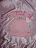 """Caroline American Girl Pink Doll DRESS ONLY Fits 18"""" Retired Doll"""