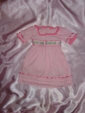 Caroline American Girl Pink Doll DRESS ONLY Fits 18""