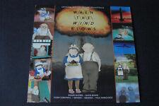 When The Wind Blows David Bowie OST Soundtrack 1986 LP Vinyl