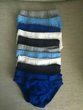 Boys 10 Pairs Rocket and Dinosaur Weekday Pants Briefs Underwear 1.5-8 Years