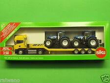 1:50 Siku Farmer 1984 Scania R620 LKW mit Traktoren New Holland T7070