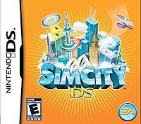 SimCity (Nintendo DS) Lite Dsi xl 2ds 3ds XL sim city