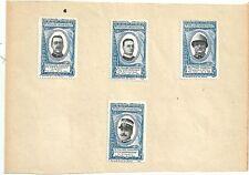 1917 MARCHE NAZIONALISTE Uff Marocco Cap Ollearo Mar Cosmaro Ten Col Mensingher