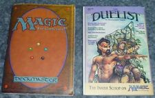 Magic the Gathering 4th Edition RULEBOOK Strategy Guide MtG RARE 1995 rules book