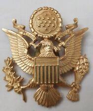 Officer's Cap Insignia Visor Cap Hat Military emblem Medal Pin Vintage