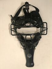 Umpire-Catchers Mask Old School Heavy Metal Cage Great Condition