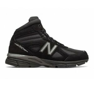 New Balance Men's 990 Mid Boots NEW AUTHENTIC Black MO990BK4