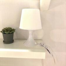 IKEA LAMPAN Tischlampe weiß Nachttischlampe Regalleuchte Wohnzimmerleuchte NEU