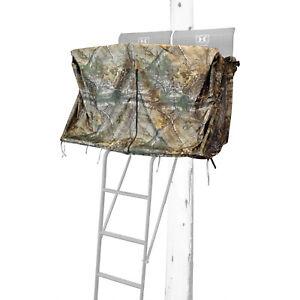 Hawk HWK-2072-BK 2 Man Ladder Tree Stand Blind for Denali and Sasquatch Ladders