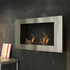 Teporus Stove Bioethanol Fireplace Camnietto Wall 3.5 Kw without Stove Pipe Long