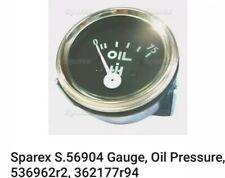 Sparex S.56904 Gauge, Oil Pressure, 536962r2, 362177r94 Case / IH