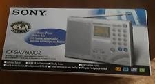 Sony ICF-SW7600GR AM/FM Shortwave World Band Receiver with Single Side Band NIB