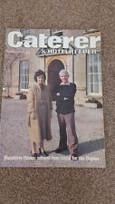 **Catererer & hotelkeeper magazine from the 1970s💟**