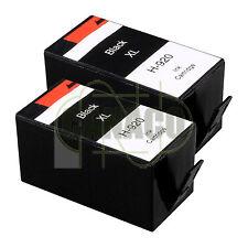 2 BLACK 920XL HIGH YIELD 920BK for HP Printer Officejet 6000 6500 - E609 E709
