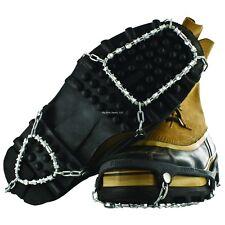 NEW Yaktrax Diamond Grip Black Size L Ice Fishing Creepers Cleats 08532