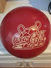 Coca Cola Bowling Ball 16lb Undrilled Vintage