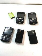 Lot of (3) BlackBerry Black Nextel (1) Sony Erickson Flip Phone For parts only