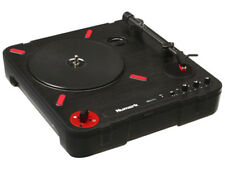 Numark PT01 Scratch Record Player Portable with Slide Scratch Switch and Speaker