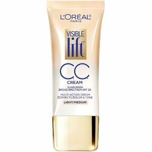 L'Oréal Visible Lift CC Cream SPF 20 1.0 OZ