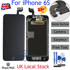"Replacement For iphone 6S 4.7"" LCD Touch Screen Digitizer +Button +Camera Black"