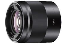 Sony E 50mm f/1.8 OSS Lens  For E Mount - Black -SEL50F18