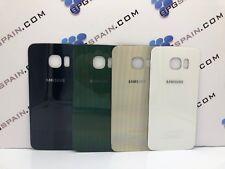 Tapa trasera ORIGINAL Samsung Galaxy S6 EDGE Dorada Black blanco usado envio fre