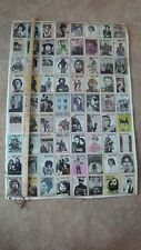 Rolling Stone Cover Poster Original Vintage Magazine Covers 1960's 1970's