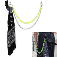2 Layers Trousers Pants Hipster Chains Punk Street Chain Unisex HipHop Jewelry