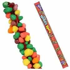 WONKA*Rainbow NERDS ROPE Soft Gummy+Crunchy Candy BITE+CHEW+PULL .92oz Exp. 8/17