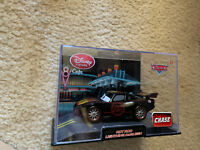 Pixar Cars Chase Disney Store Exclusive HOT ROD Lightning McQueen 1:43 scale