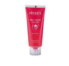 Jovees Strawberry Face Wash Suitable for normal to dry skin 120 ml