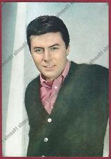 JAMES DARREN 02 ATTORE ACTOR ACTEUR CINEMA MOVIE USA Cartolina NON FOTOGRAFICA