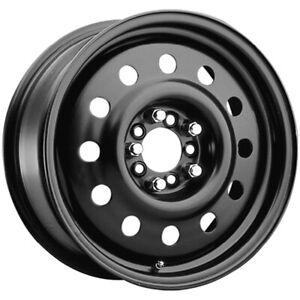 "Pacer 83B FWD Mod 15x6 5x100/5x115 +41mm Black Wheel Rim 15"" Inch"