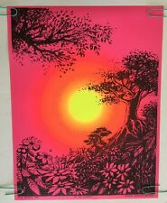 In The Evening Vintage Black Light Poster Pin-up 1968 Synthetic Trips McCulley